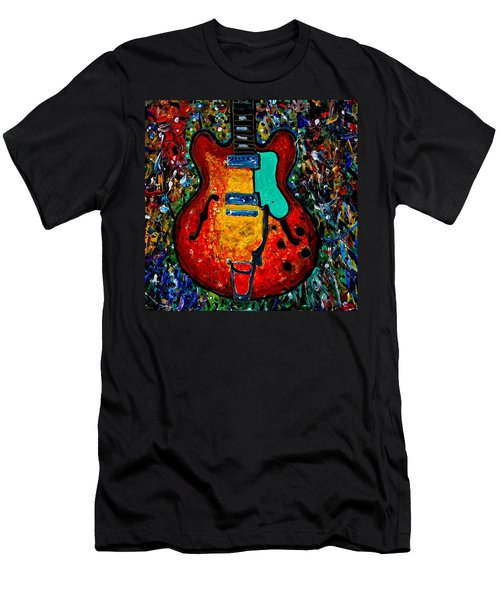 Guitar Scene Men's T-Shirt (Athletic Fit)