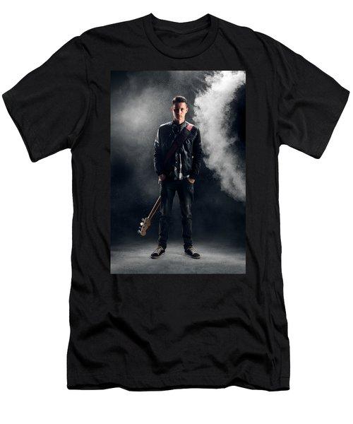 Guitarist Men's T-Shirt (Athletic Fit)