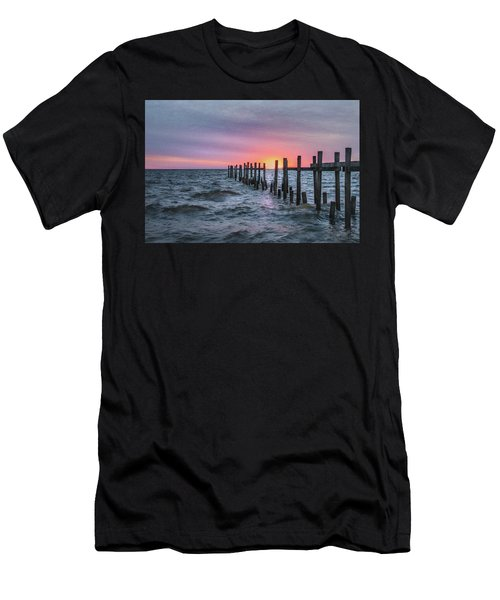 Gulf Coast Sunrise Men's T-Shirt (Athletic Fit)