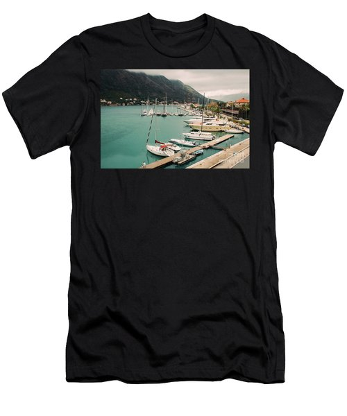 Gulf Of Kotor Men's T-Shirt (Athletic Fit)