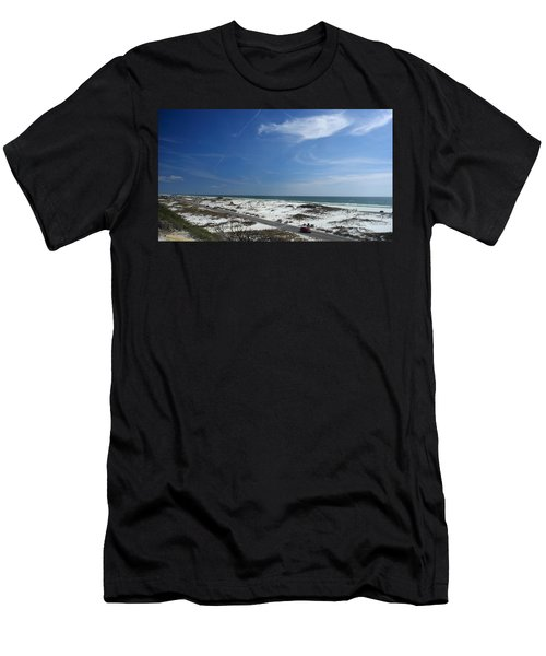 Gulf Of Mexico At Pensacola Beach Men's T-Shirt (Athletic Fit)