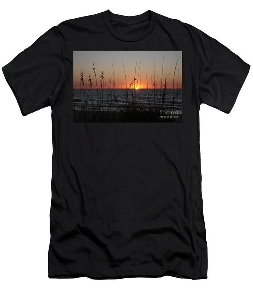 Gulf Sunset In Florida Men's T-Shirt (Athletic Fit)