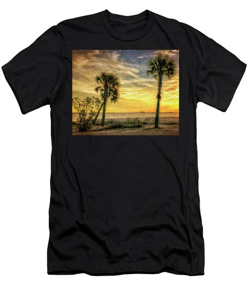 Gulfport Sunset Men's T-Shirt (Athletic Fit)