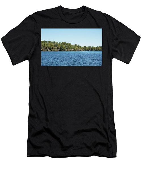 Gull Lake Men's T-Shirt (Athletic Fit)
