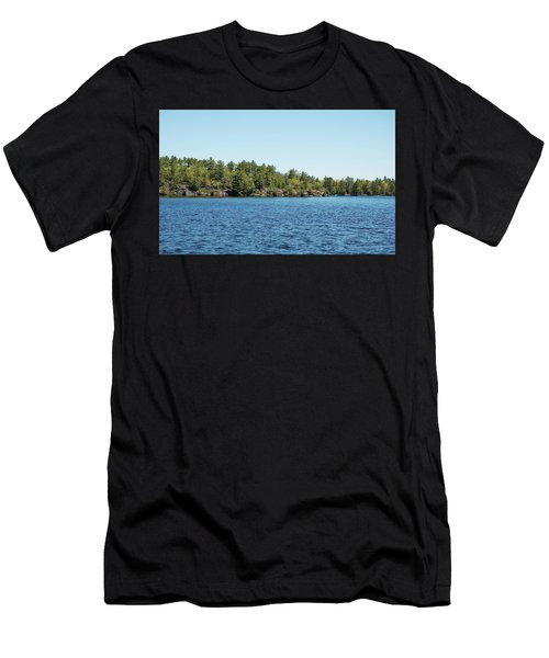 Gull Lake Men's T-Shirt (Athletic Fit)