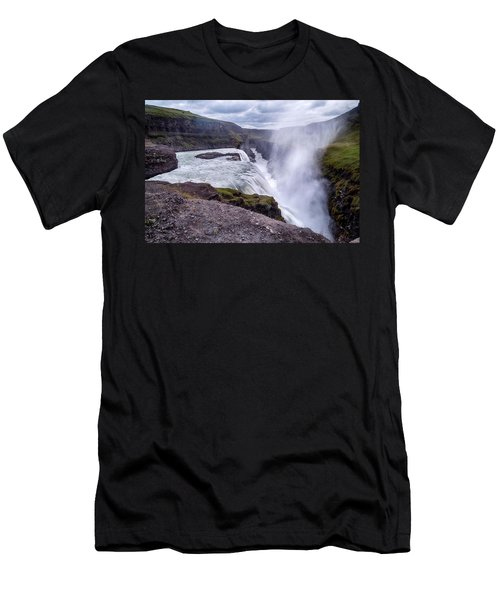 Gullfoss - Iceland Men's T-Shirt (Athletic Fit)