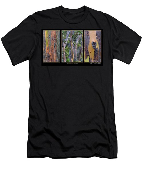 Gum Trees At Lake St Clair Men's T-Shirt (Slim Fit) by Werner Padarin