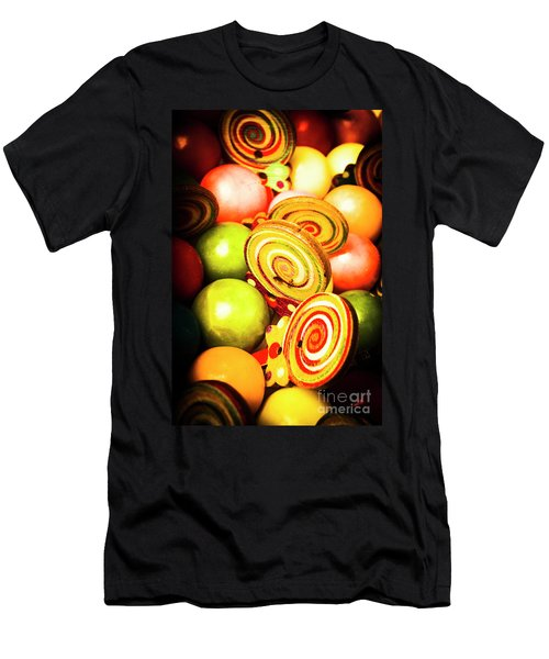 Gumdrops And Candy Pops  Men's T-Shirt (Athletic Fit)