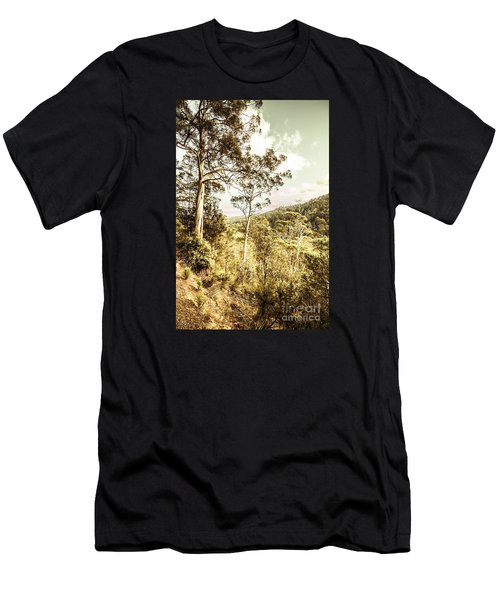 Men's T-Shirt (Athletic Fit) featuring the photograph Gumtree Bushland by Jorgo Photography - Wall Art Gallery