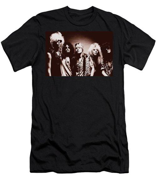 Guns N' Roses - Band Portrait 02 Men's T-Shirt (Athletic Fit)