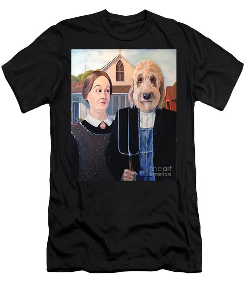 Gunther Goes Goth Men's T-Shirt (Athletic Fit)