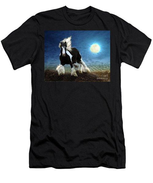 Gypsy Moon Men's T-Shirt (Slim Fit) by Melinda Hughes-Berland