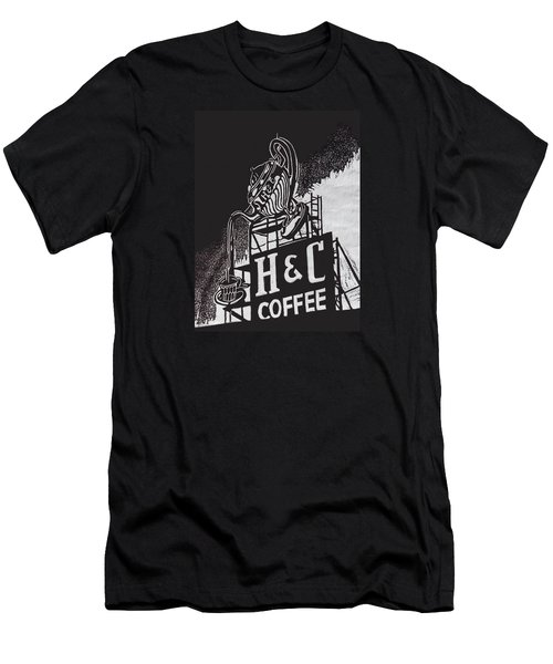 H And C Coffee Sign Men's T-Shirt (Athletic Fit)