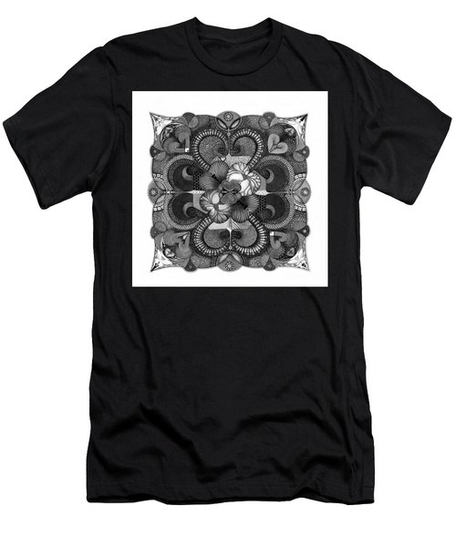 Men's T-Shirt (Athletic Fit) featuring the drawing H2H by James Lanigan Thompson MFA