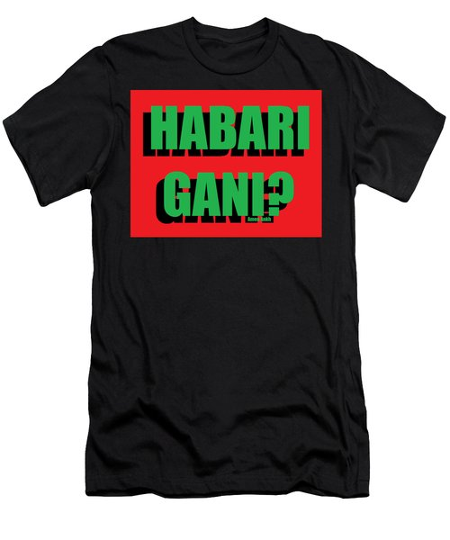 Habari Gani Men's T-Shirt (Athletic Fit)
