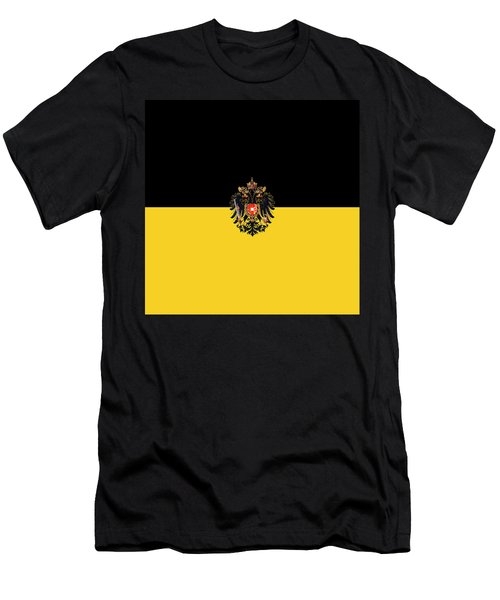 Habsburg Flag With Imperial Coat Of Arms 3 Men's T-Shirt (Athletic Fit)