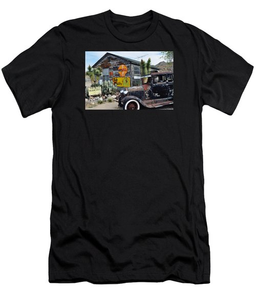 Hackberry Route 66 Auto Men's T-Shirt (Athletic Fit)