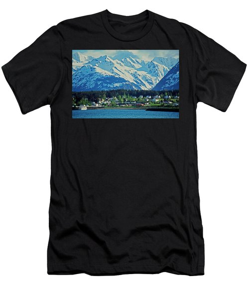 Haines - Alaska Men's T-Shirt (Athletic Fit)