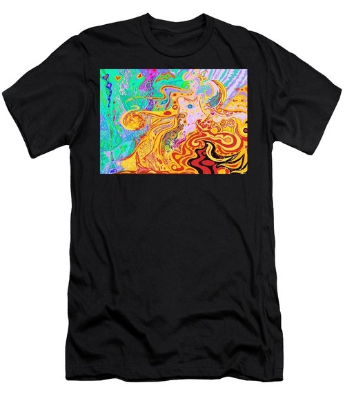 Hair Of The Divine Universe Men's T-Shirt (Athletic Fit)