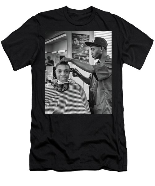 Haircut At Joe's Men's T-Shirt (Athletic Fit)