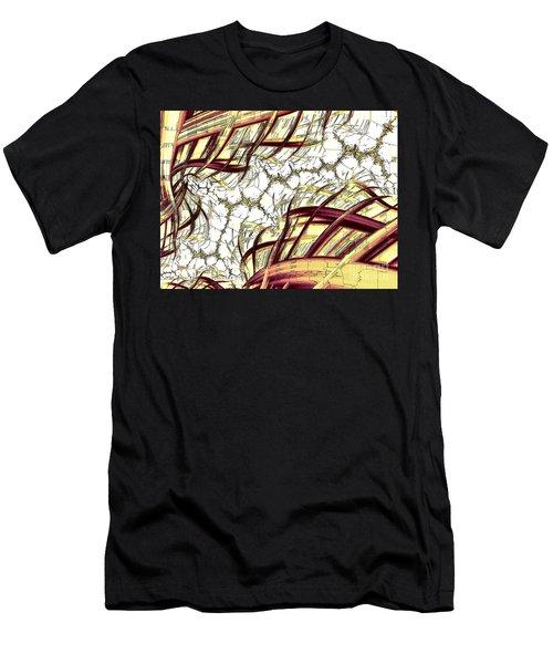 Hairline Fracture Men's T-Shirt (Athletic Fit)