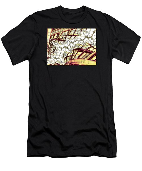 Hairline Fracture Men's T-Shirt (Athletic Fit)