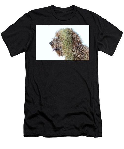 Hairy Doodle Men's T-Shirt (Athletic Fit)