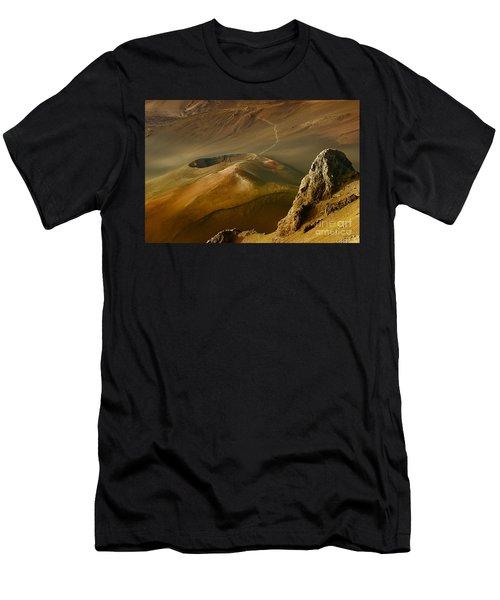 Haleakala Caldera Men's T-Shirt (Athletic Fit)