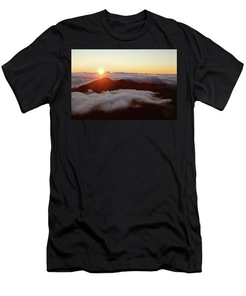 Men's T-Shirt (Athletic Fit) featuring the photograph Haleakala by Lucian Capellaro