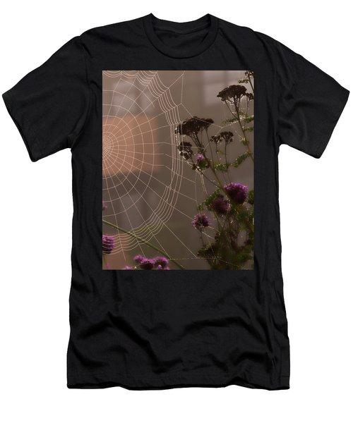 Half A Web Men's T-Shirt (Athletic Fit)