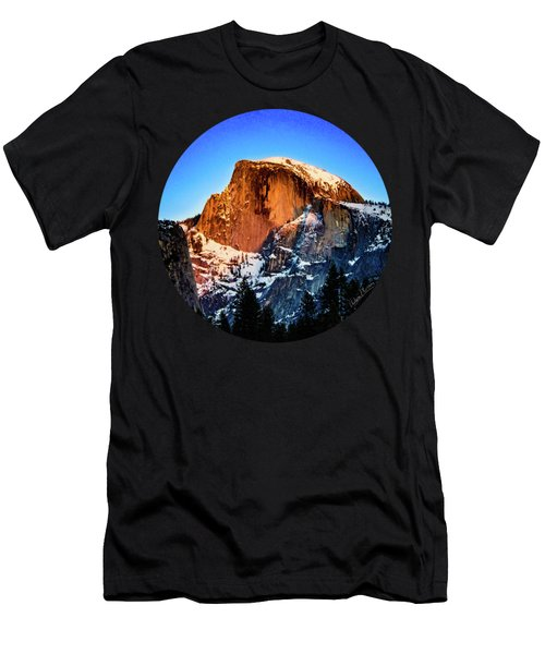 Half Dome Aglow Men's T-Shirt (Athletic Fit)