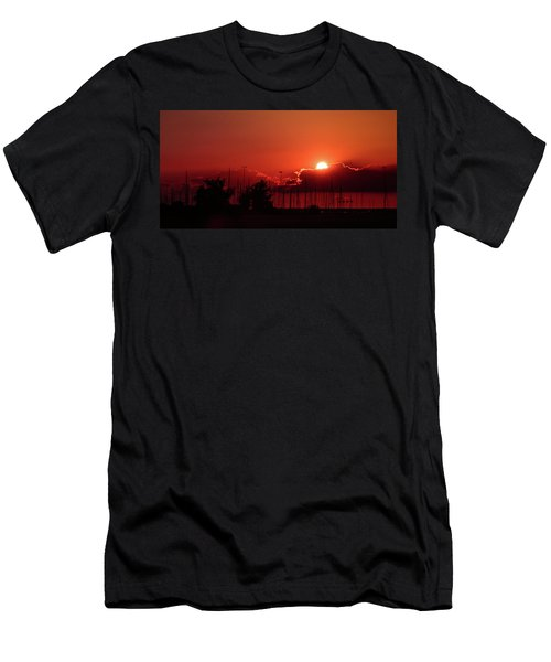 Half Hidden Men's T-Shirt (Athletic Fit)