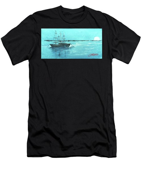 Half Moon Harbor Men's T-Shirt (Athletic Fit)