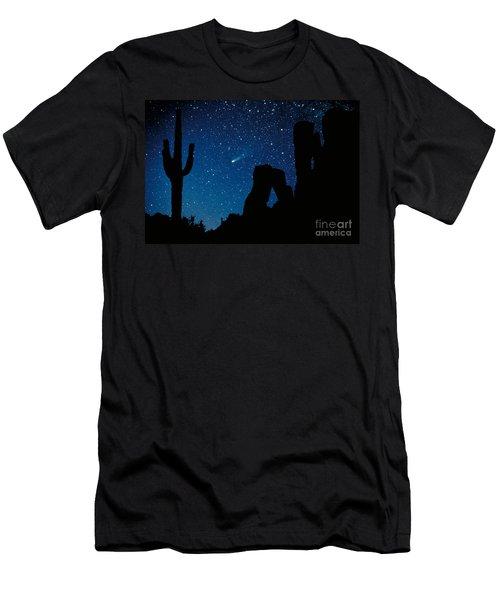Halley's Comet Men's T-Shirt (Athletic Fit)