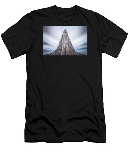 Hallgrimskirkja Cathedral Men's T-Shirt (Athletic Fit)