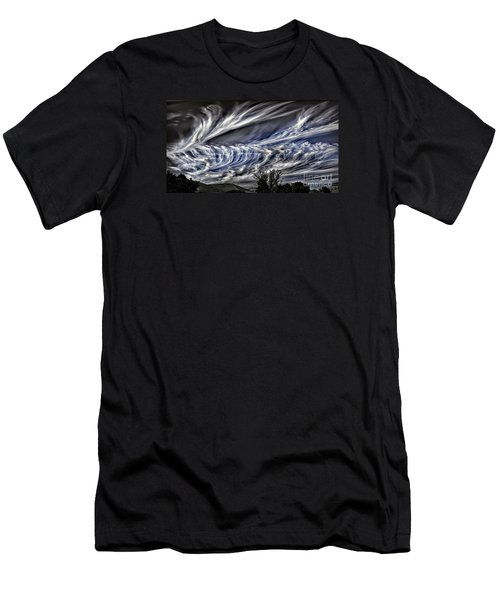 Halloween Clouds Men's T-Shirt (Athletic Fit)