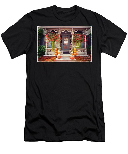 Halloween In A Small Town Men's T-Shirt (Athletic Fit)