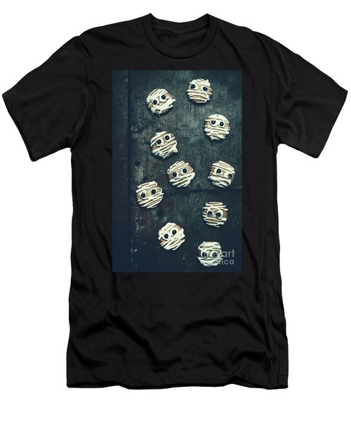 Halloween Mummy Cookies Men's T-Shirt (Athletic Fit)