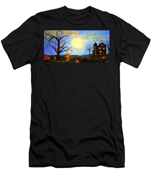 Halloween Night Two Men's T-Shirt (Athletic Fit)