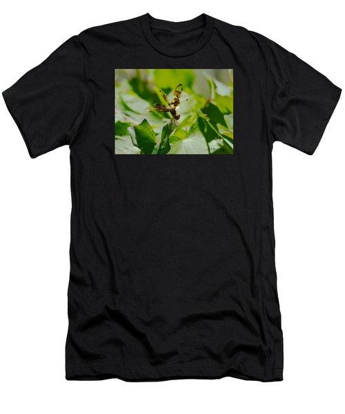 Halloween Pennant Men's T-Shirt (Athletic Fit)