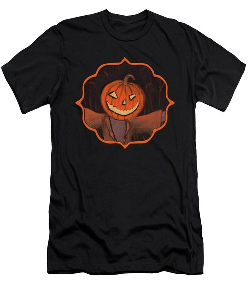 Halloween Scarecrow Men's T-Shirt (Athletic Fit)
