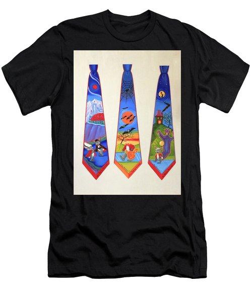 Halloween Ties Men's T-Shirt (Athletic Fit)