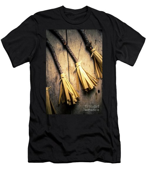 Halloween Witch Craft Men's T-Shirt (Athletic Fit)