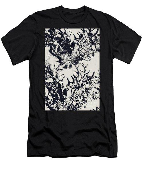 Halls Of Horned Art Men's T-Shirt (Athletic Fit)