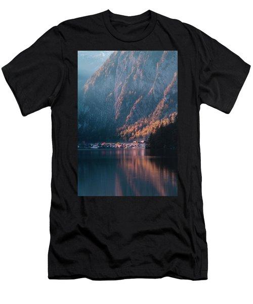 Hallstatt Fall Men's T-Shirt (Athletic Fit)