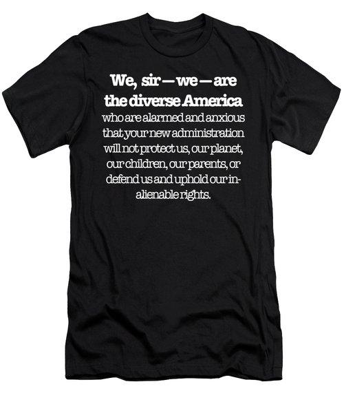 Hamilton Men's T-Shirt (Athletic Fit)