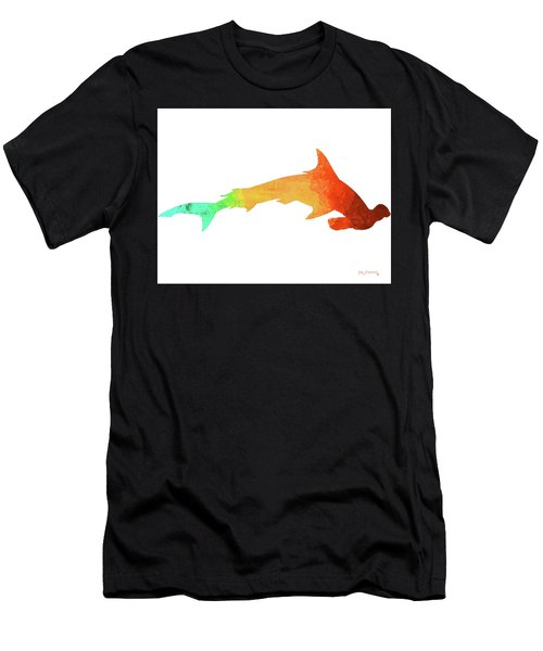 Hammerhead Shark Men's T-Shirt (Athletic Fit)