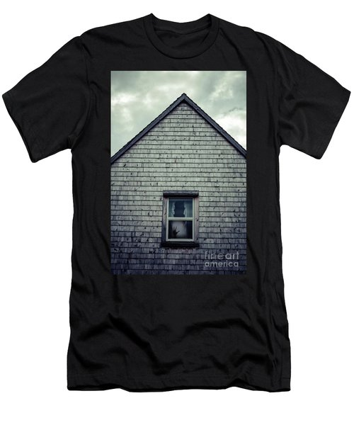 Hand In The Window Men's T-Shirt (Athletic Fit)