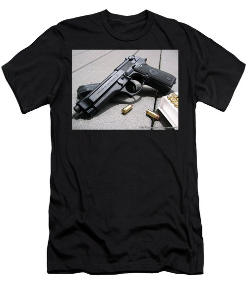Handgun Men's T-Shirt (Athletic Fit)