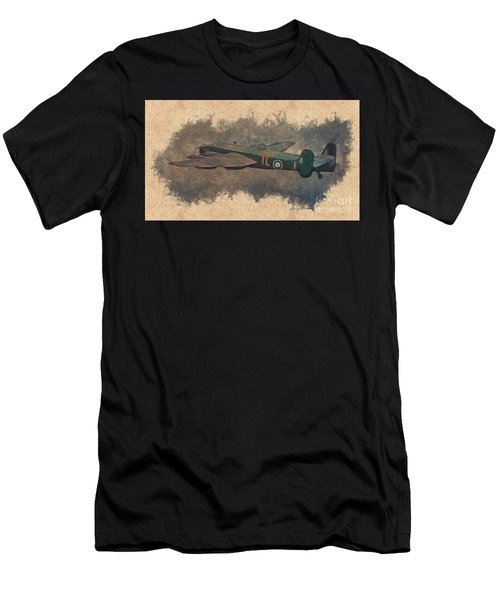 Handley Page Halifax Heavy Bomber Men's T-Shirt (Athletic Fit)